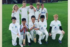 Year 7, 8 and 9 cricket team regional final