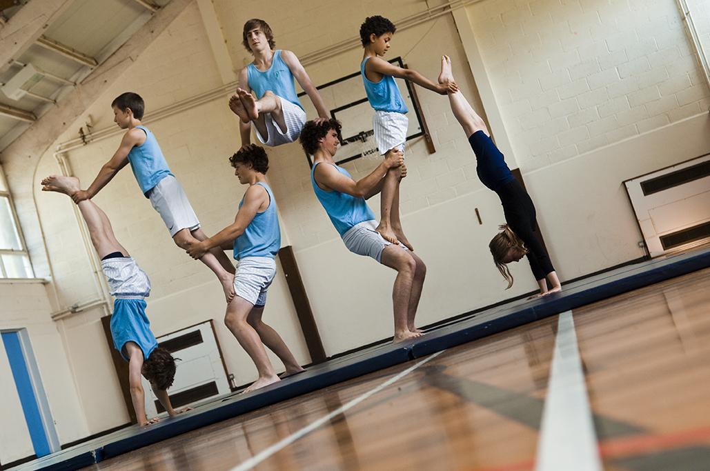 Gym and dance display